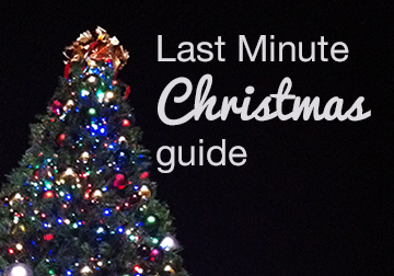The last-minute Christmas guide: shopping, entertaining, decorating, and travel tips