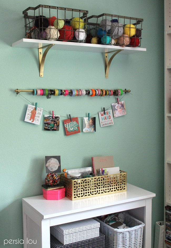 Clever ways to organize craft supplies travelcraft journal - Organizing craft supplies in small space collection ...