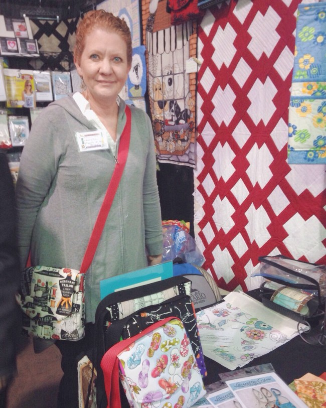 Quilt show booth