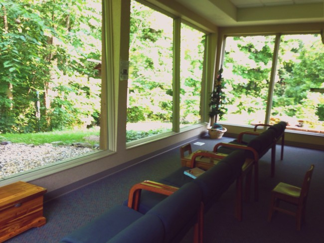 Mounds park observation room