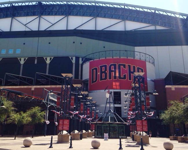 Diamondbacks baseball field