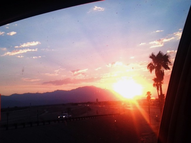 Sunset in Indio