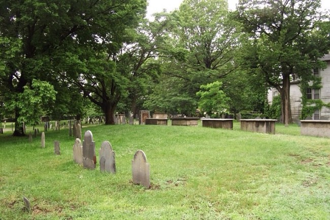 Salem burying point