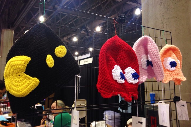 Phoenix Comicon knits