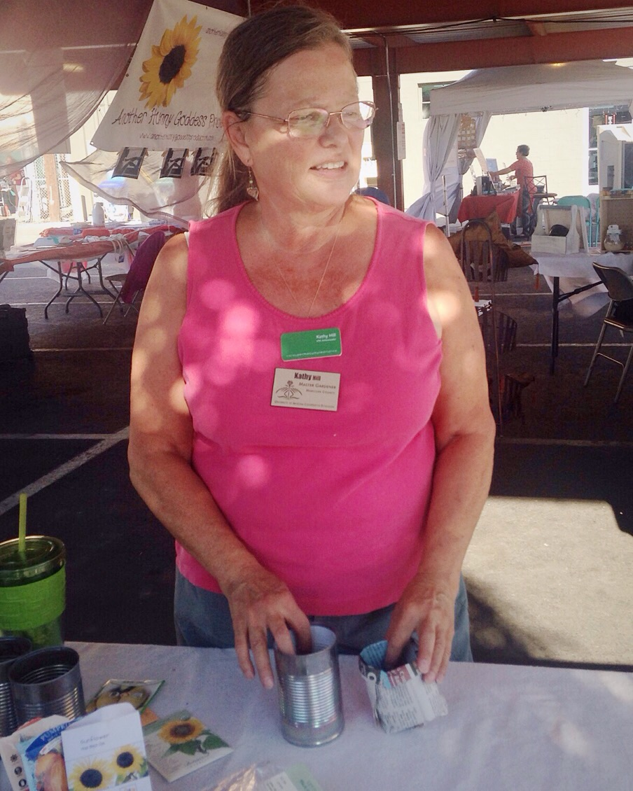 Chile Pepper Festival – Valley Permaculture volunteer Kathy