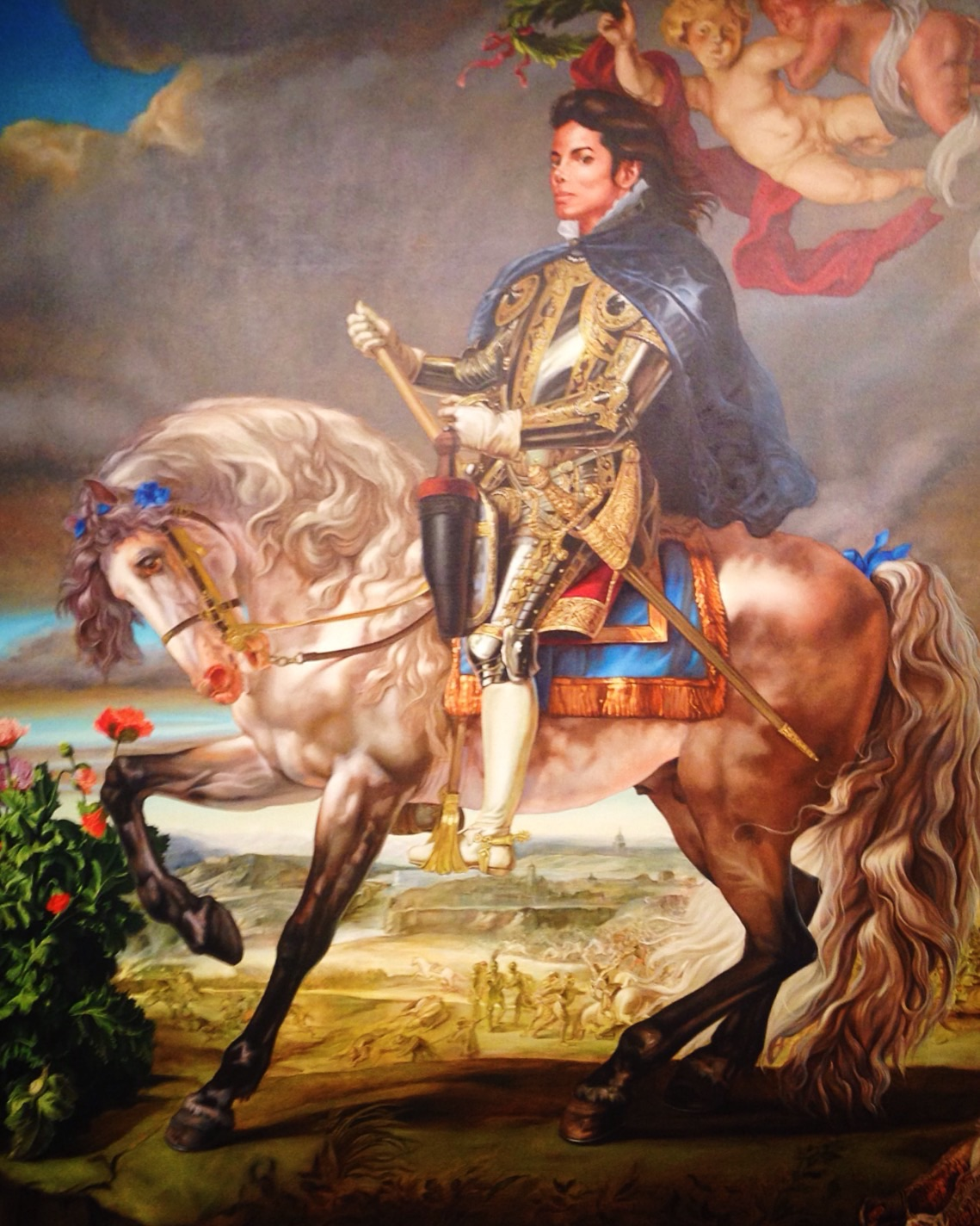 Kehinde Wiley at Phoenix Art Musem