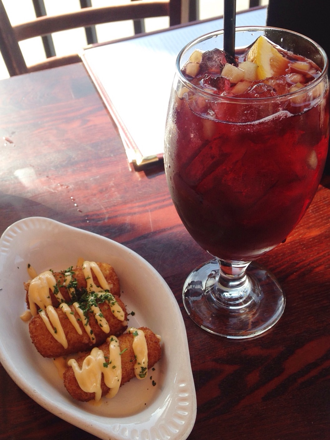 Sangria at firefly