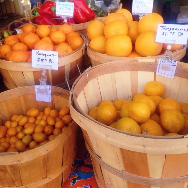 Citrus at tucson market