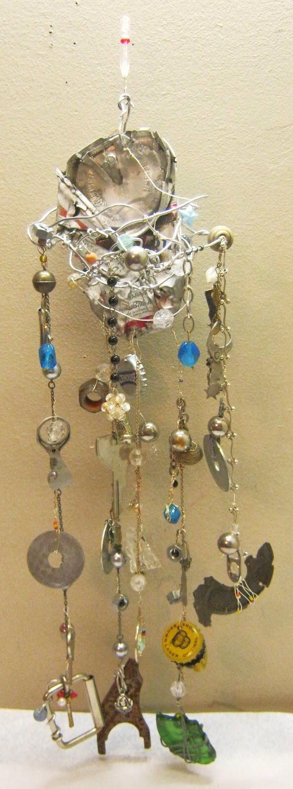 Junk Windchime by Trina Lyn