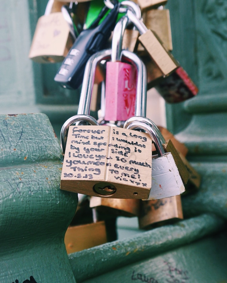 Love Locks by Philip Robins. CCL