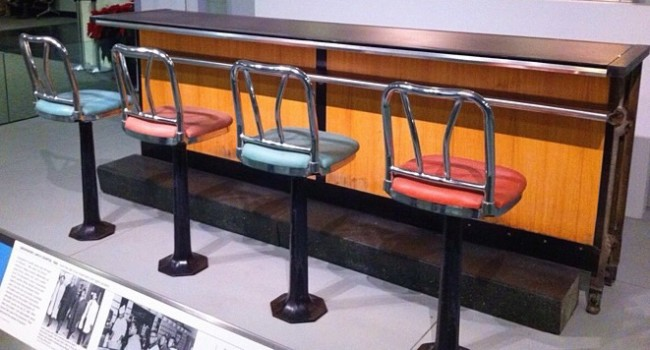 Smithsonian lunch counter