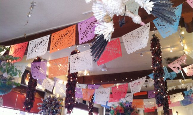Papel picado at pasquals Santa fe