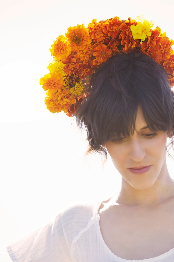 Marigold crown
