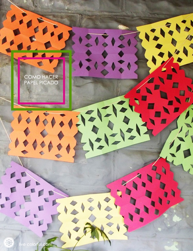 Papel picado by Live Colorful