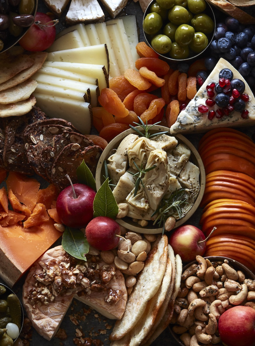 Thanksgiving cheeseboard by what's gaby cooking
