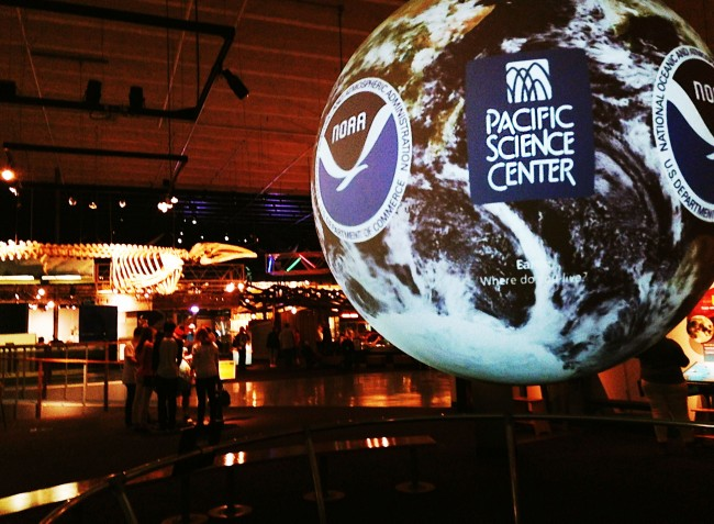We recently removed one of the machnes at the Pacific Science Center at the Seattle Washington Center gift shop. Before the die was retired we ran sets for our online store.