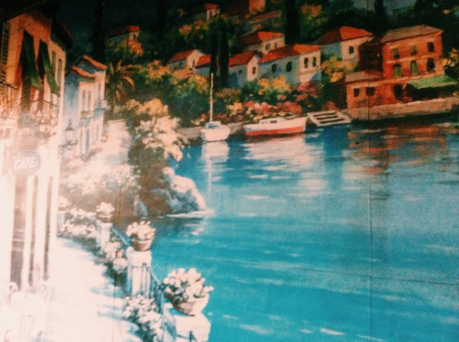 Italy mural