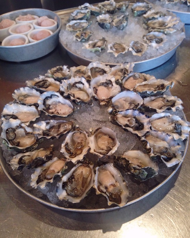 Oysters at Elliott's Oyster House, Seattle