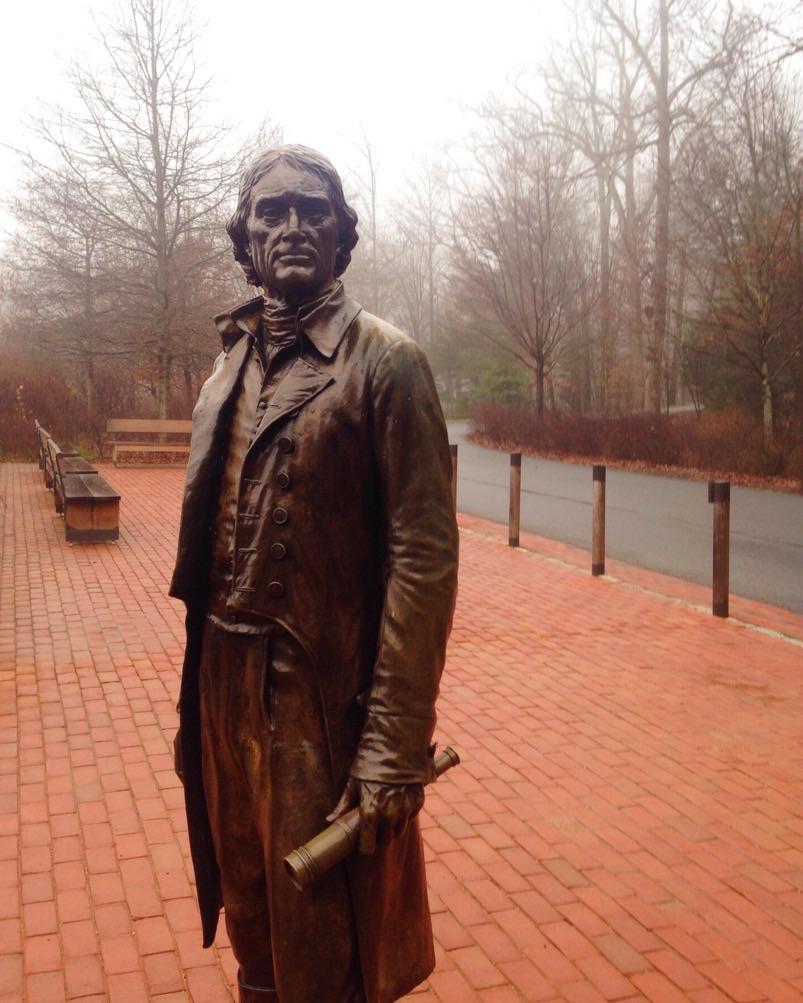 Thomas Jefferson at Monticello