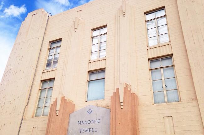 Art Deco Masonic lodge yuma