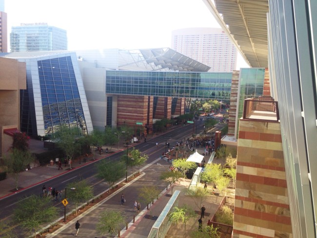 Phoenix convention center and symphony hall