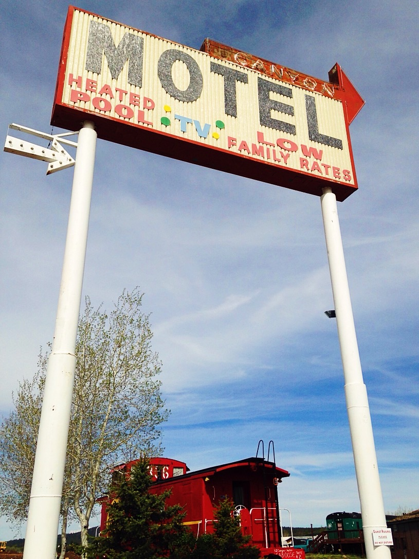 Canyon Motel, Williams, AZ -
