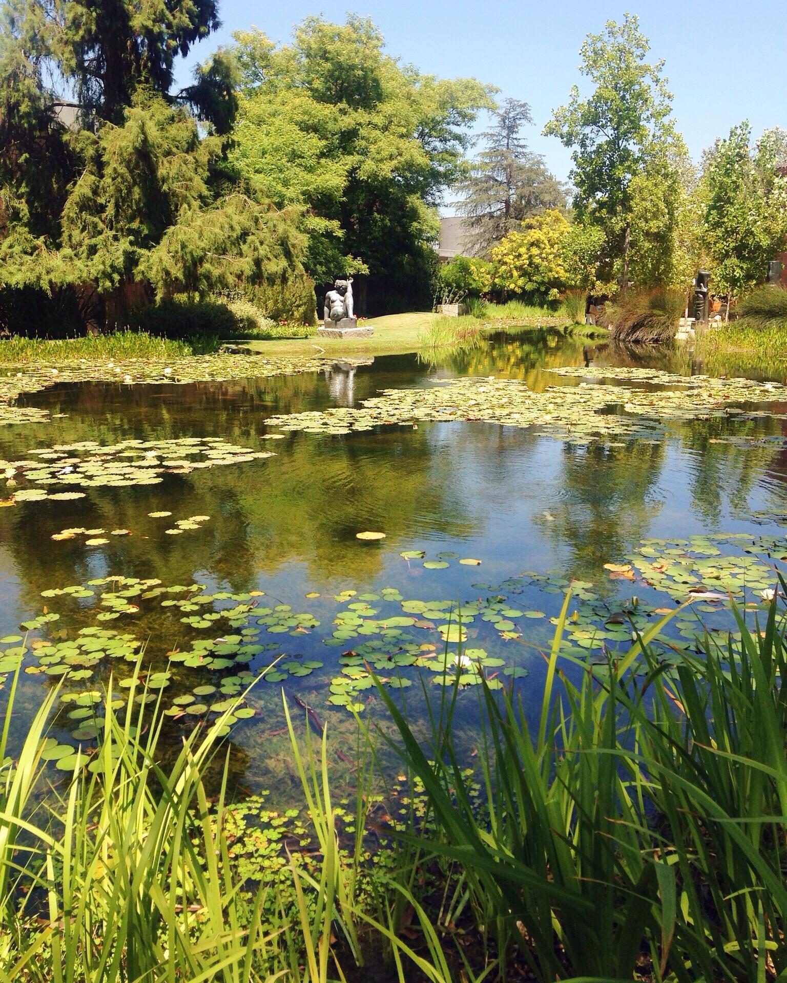 Norton Simon - sculpture garden