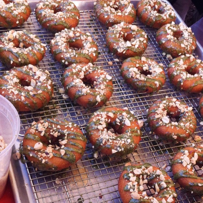 Chile pepper festival - welcome donuts