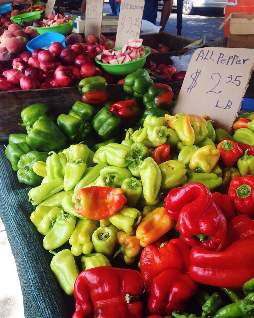 Pasadena farmers market