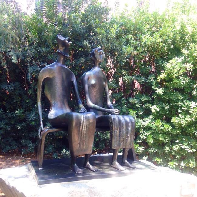 Norton Simon Sculpture