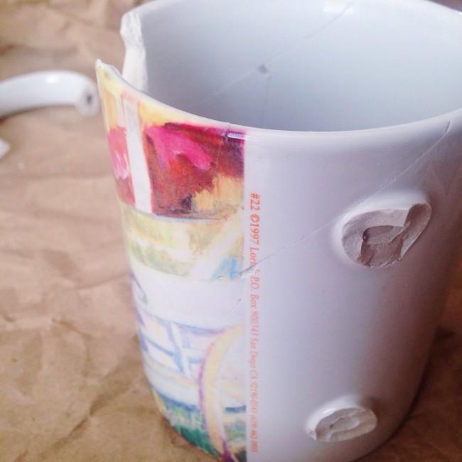 San Diego mug