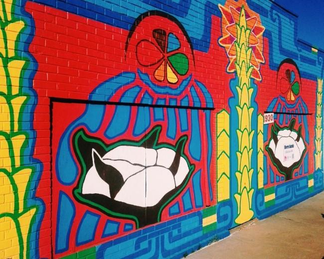 @olibalcells mural