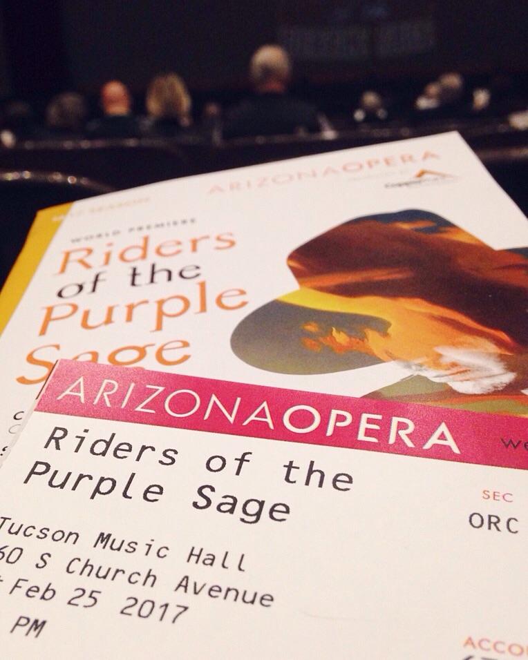 Riders of the Purple Sage program
