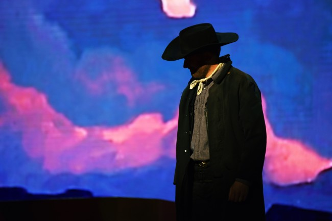 Riders of the Purple Sage. Photo by Tim Trumble. Morgan Smith as Lassiter.