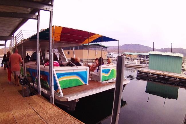 Bartlett lake Boat