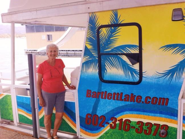 Sarah Church at Bartlett Lake Marina