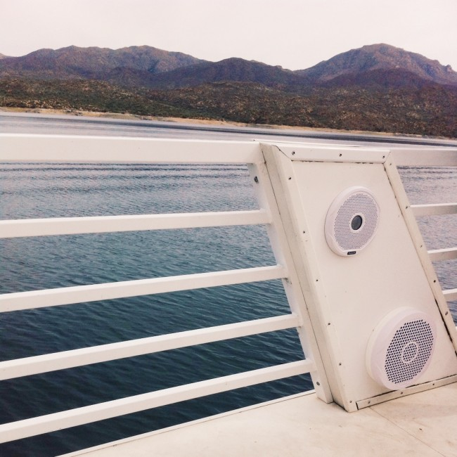 Party Yacht speakers