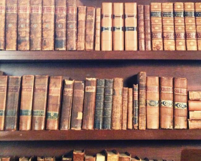 Monticello bookshelf