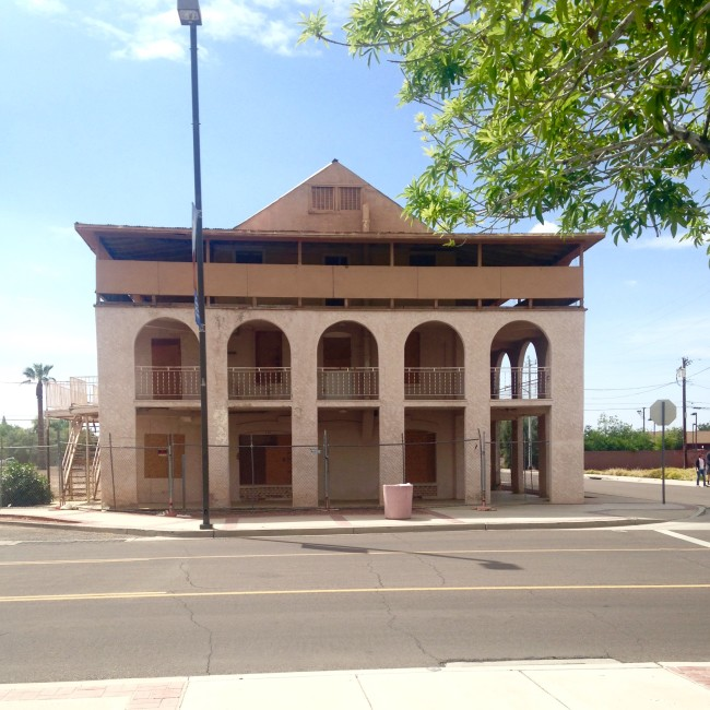 Historic hotel in Peoria AZ