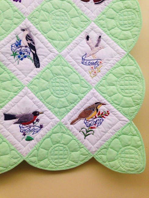 State bird quilt