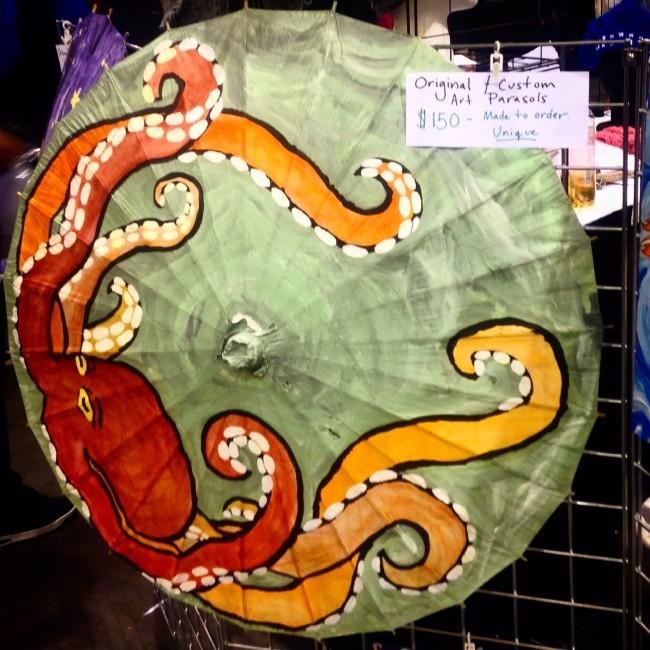 Unikornis Art parasol at phxcc