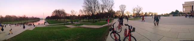 National mall dc pano