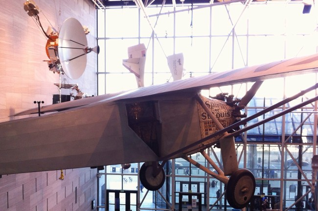 Smithsonian Air and Space Museum: plane