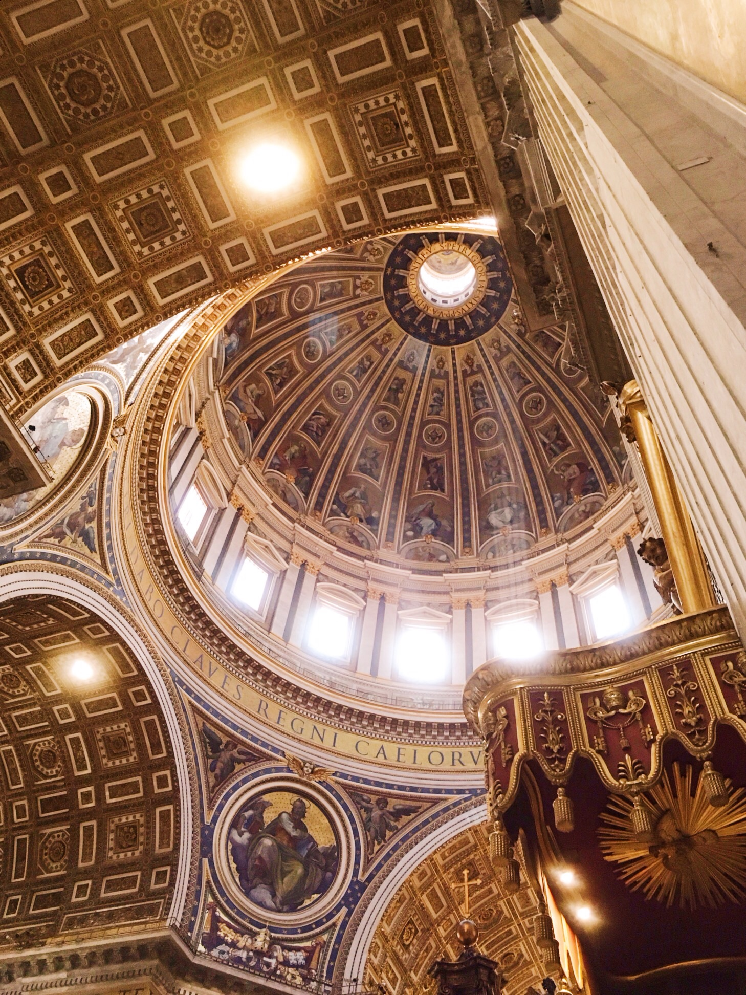 St. Peters ceiling