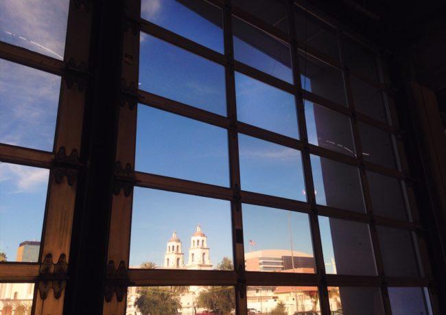Tucson MOCA view