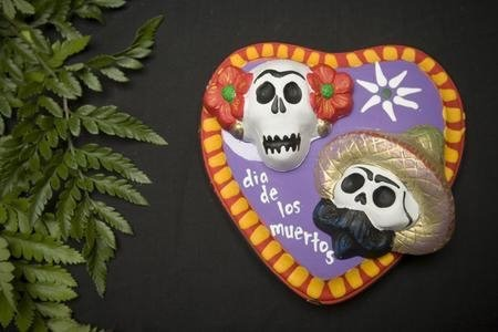 Plaster paris skulls by Crafty Chica