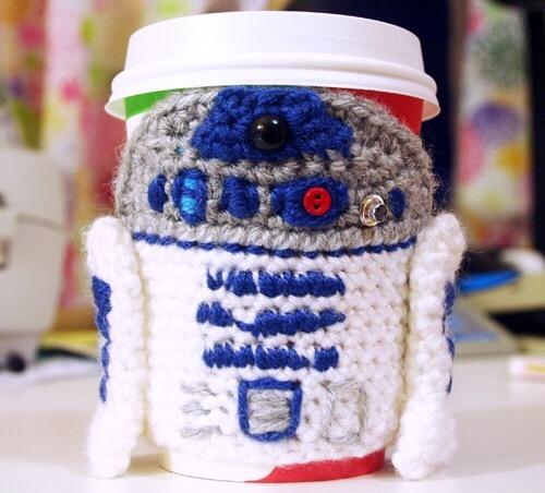 R2D2 Coffee sleeve