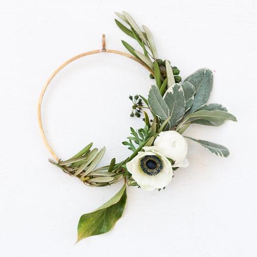 Ring wreath by Paper n Stitch blog