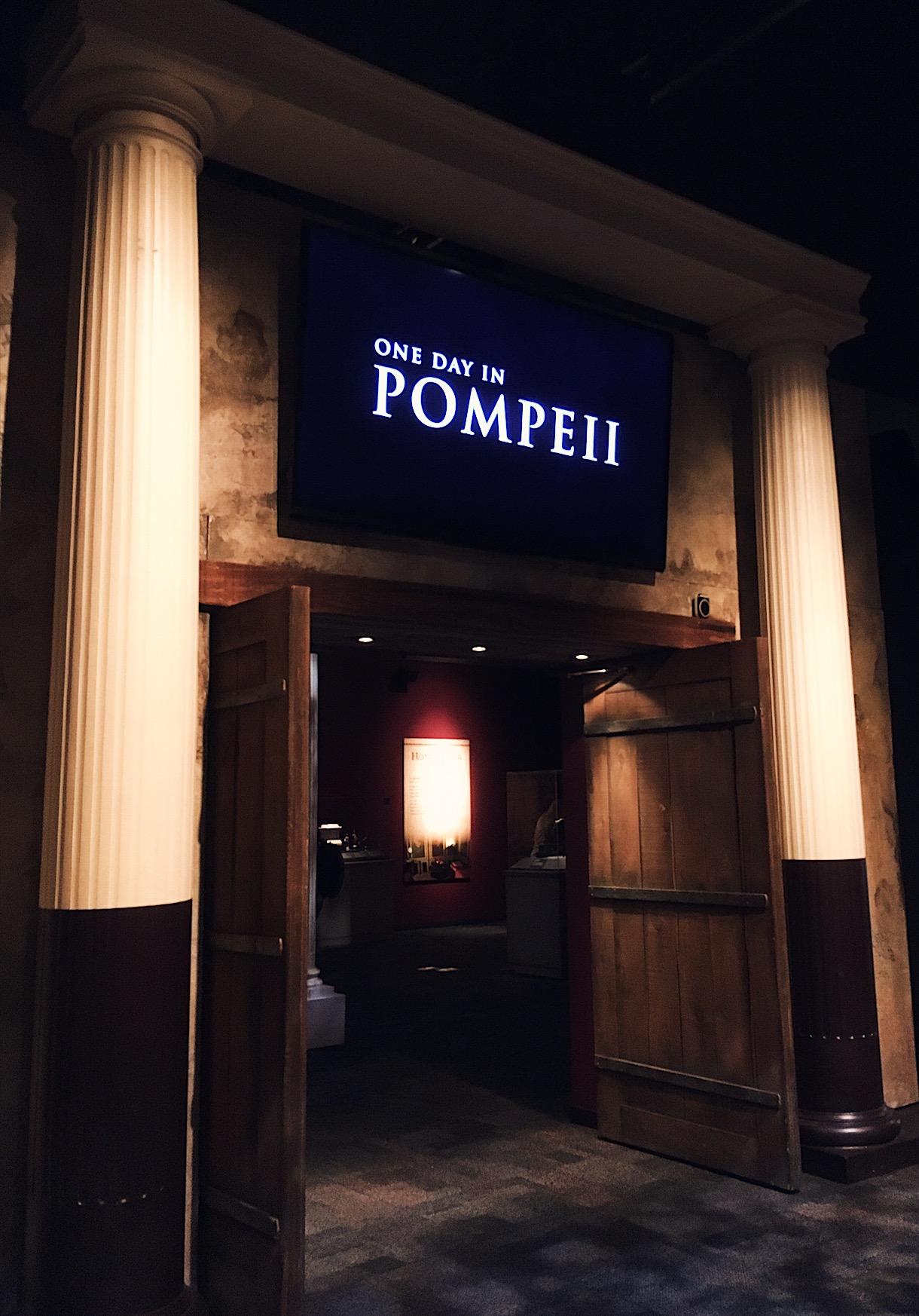 Pompeii AZ exhibition