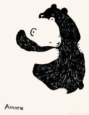 Amor bear hugs